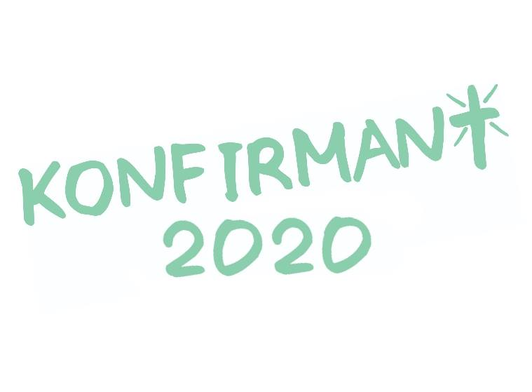 Logo for konfirmanttiåret 2019-2020